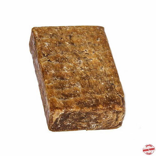 Raw Natural African Black Soap