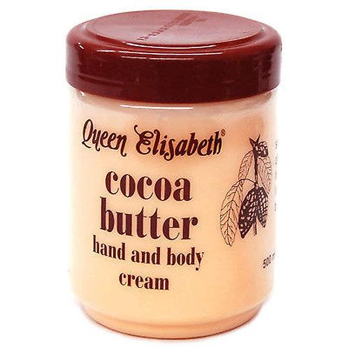 Queen Elisabeth Cocoa Butter Hand & Body Cream