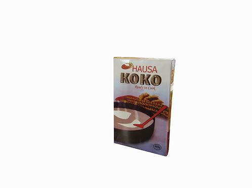 Hausa Koko ready to cook