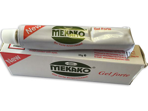 Mekako Gel Forte to help improve the skin texture, even out age spots, blemishes