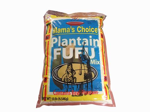 Mama's Choice Plantain Fufu Mix 10lbs