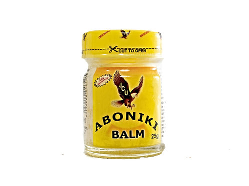 ABONIKI Massage balm, Relieves aches, pains, and sore muscles.