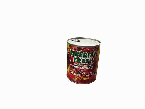 Liberian Fresh Palm Cream Concentrate