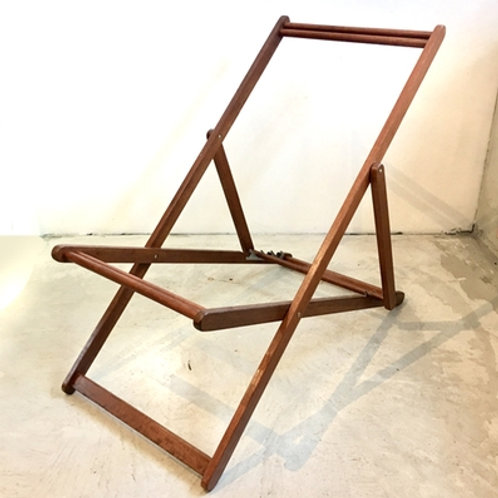 Deck Chair Frame Stained