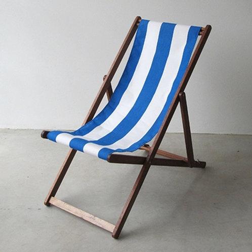 Sunbrella Block Deck Chair