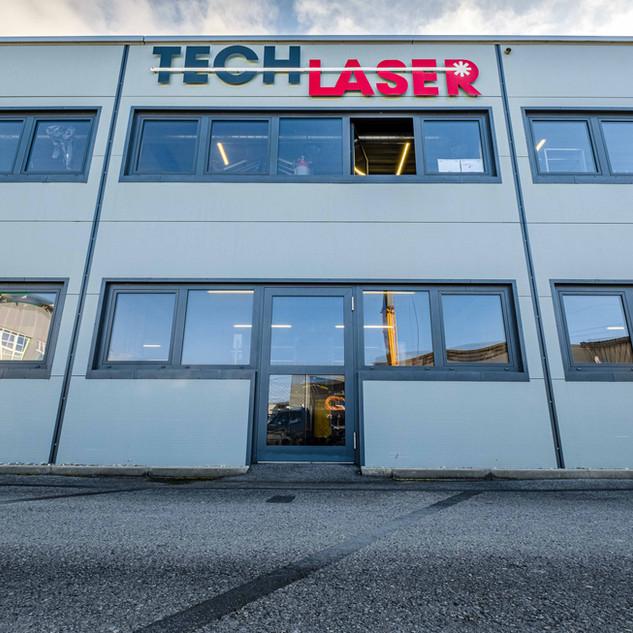 Tech-Laser, une infrastructure à votre service.  Des locaux spacieux et modernes pour développer tous vos projets et pour assurer toutes les réalisations.