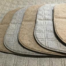Galettes de siège 100% laine