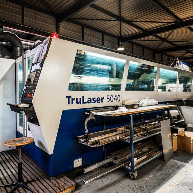 Laser Trumpf 5040 de haute technologie.