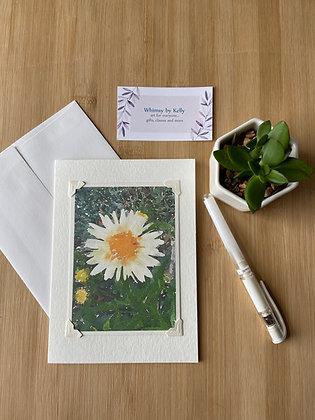 Daisy Floral Notecard