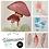 Thumbnail: Mushrooms - One Hour Watercolor- Series 3