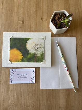 Dandelions Floral Notecard