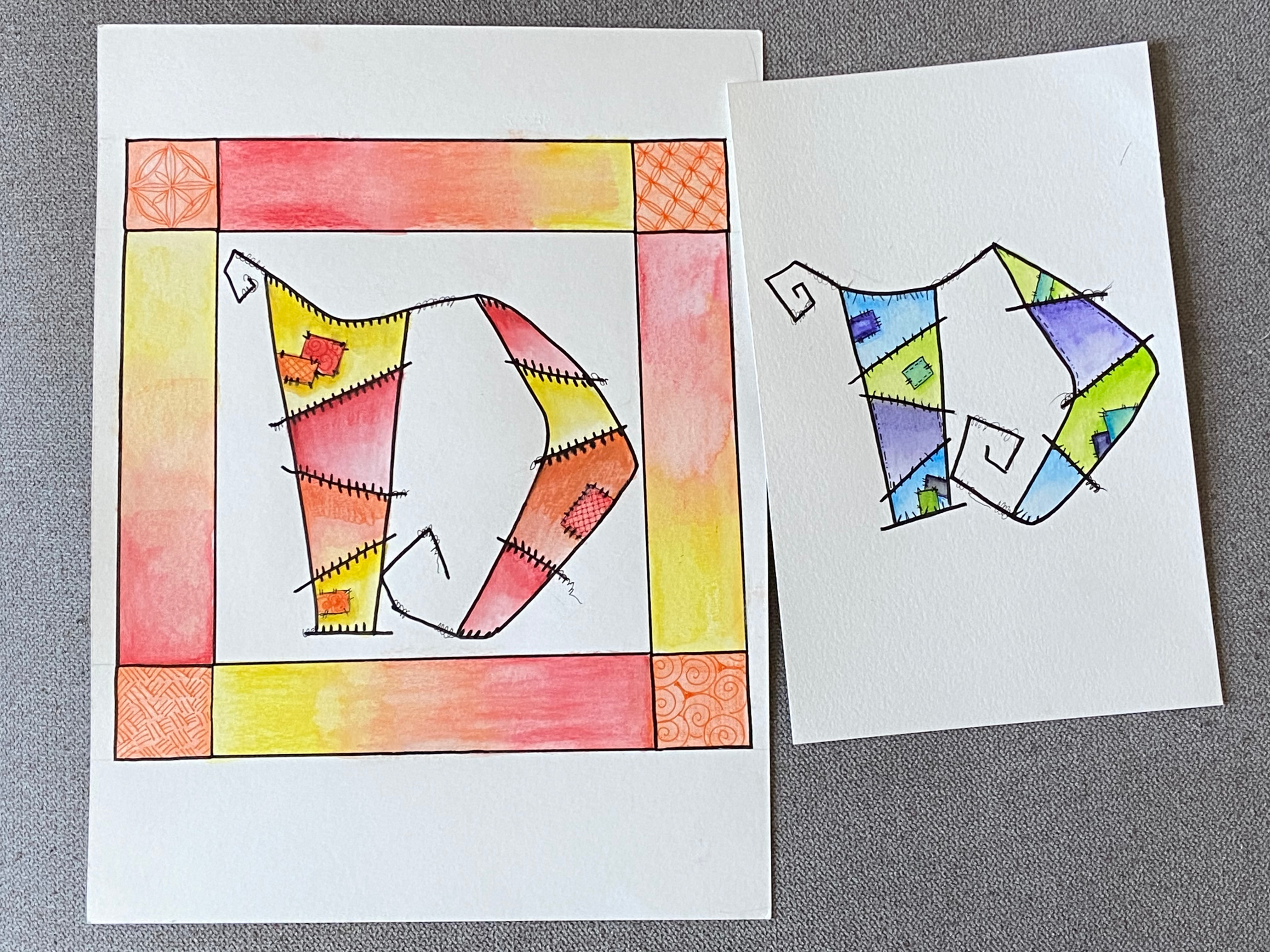 Patchwork Letters