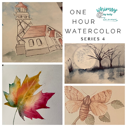 One Hour Watercolor- Series 4