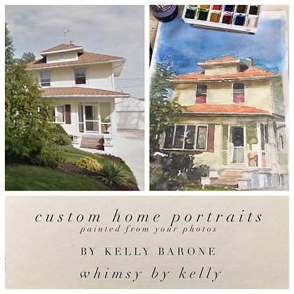 Custom Home Portraits