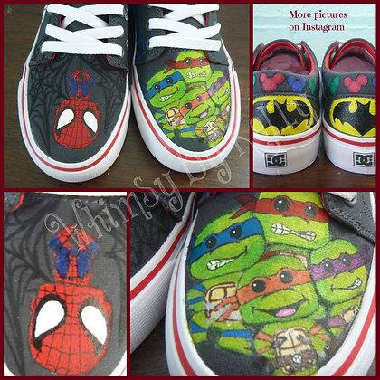 Childrens fandom sneakers