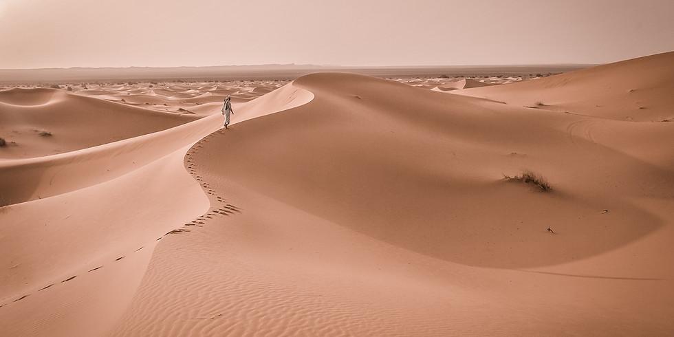 Retraite de Femmes dans le désert marocain