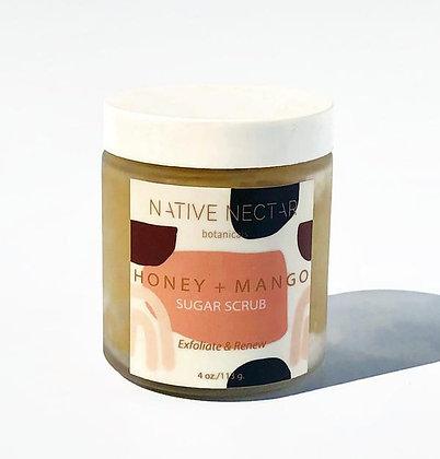 Native Nectar Botanicals Honey & Mango Sugar Scrub