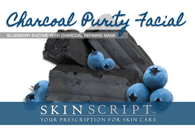 Charcoal Purity Facial of the Month