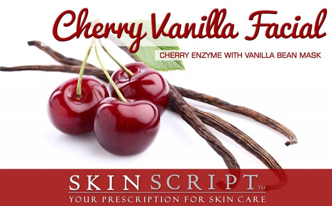 Cherry Vanilla Facial of the Month