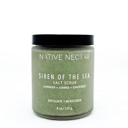 Native Nectar Botanicals Siren of the Sea Salt Scrub