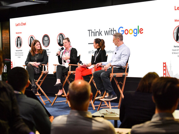 Think with Google at Google Marketing Live