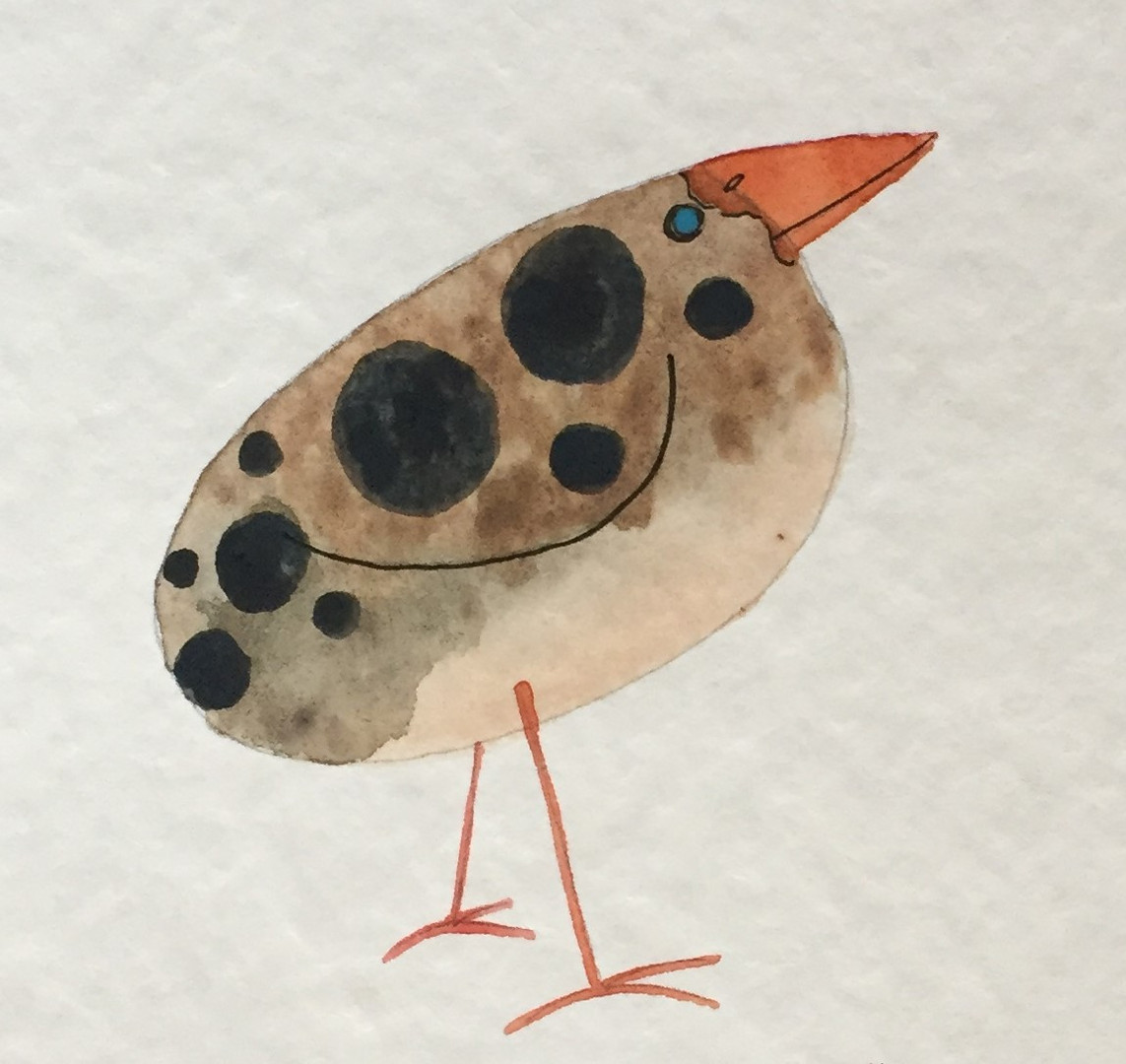 Brown Spotted Bird