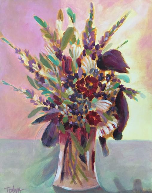 Floral Arrangement in Late June