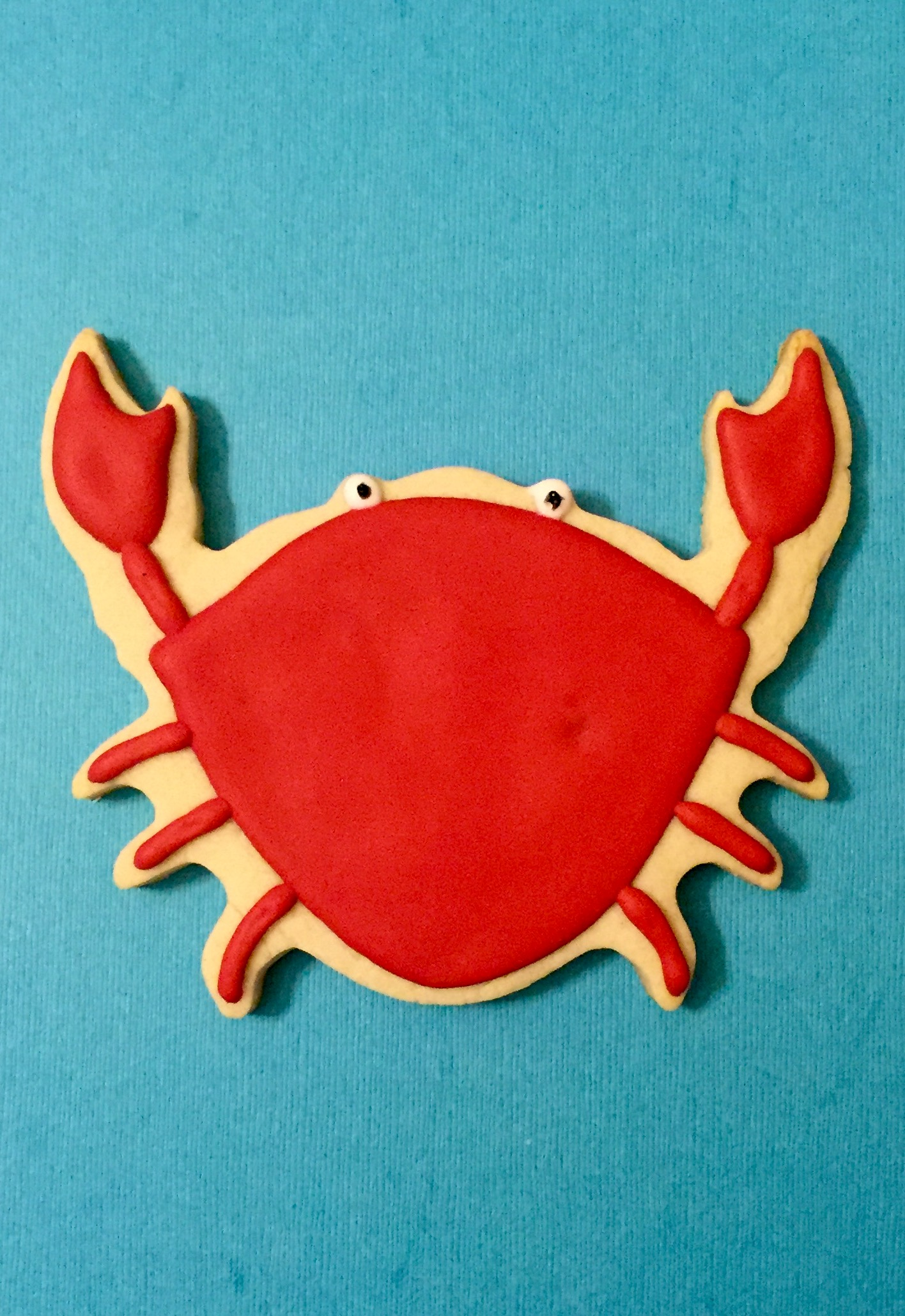 Maryland Crab Sugar Cookie