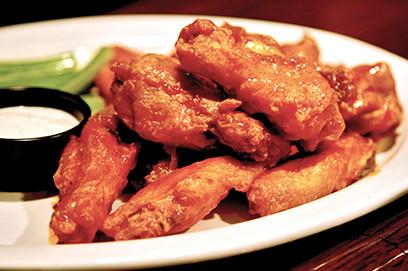 Half Moon Restaurant & Brewery Wings Special