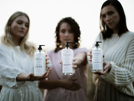 Introducing Freedom Studios - bath and body products sold at Coffee Ta Cream