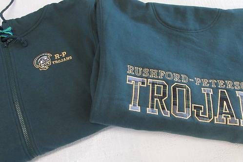 Trojan Fans Adult Hooded Sweatshirt