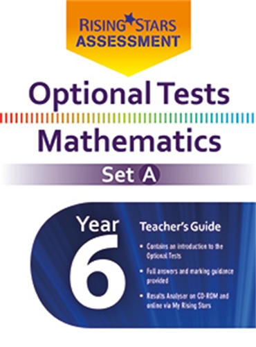 Optional Tests Mathematics Set A Year 6