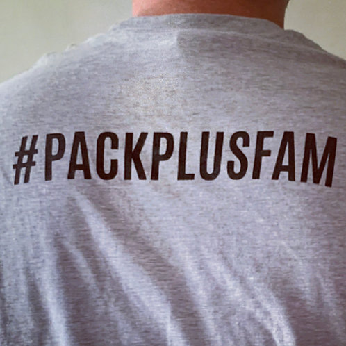 #PackPlusFam Cotton Tee