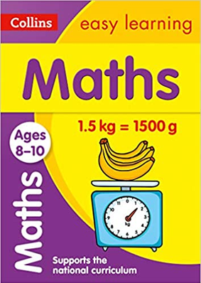 Collins Easy Learning Maths Ages 8-10