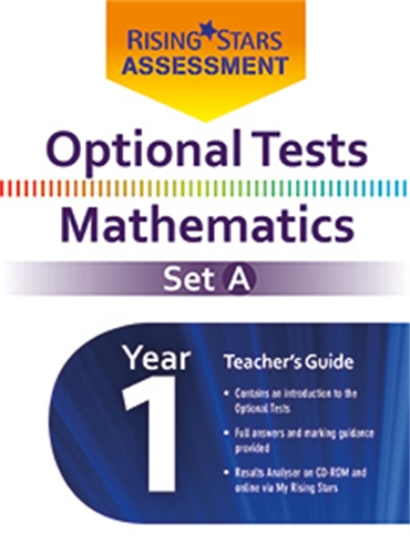 Optional Tests Mathematics Set A Year 1