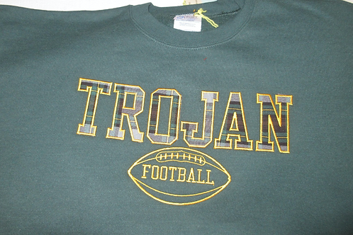 Trojan Adult Mens Crewneck Football Sweatshirt