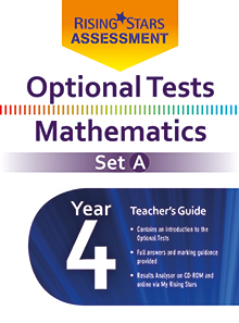 Optional Tests Mathematics Set A Year 4