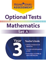 Optional Tests Mathematics Set A Year 3