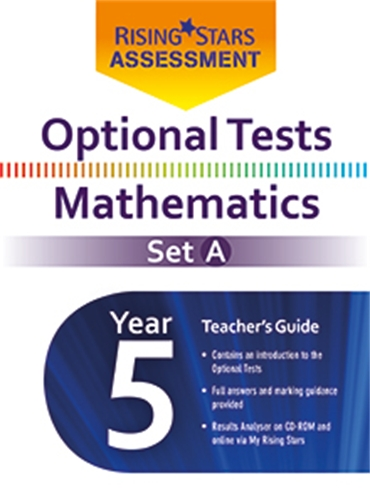Optional Tests Mathematics Set A Year 5