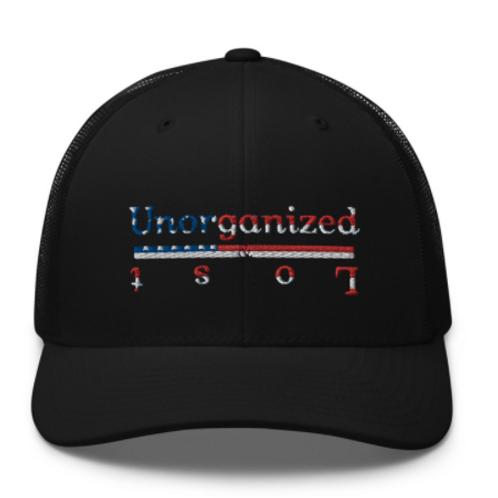 AMERICAN PRINT U&L FITTER TRUCKER HAT