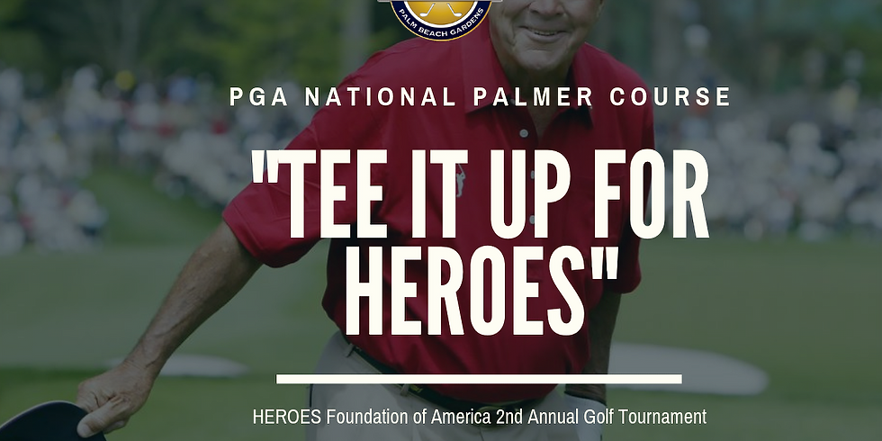 """""""Tee it up for HEROES"""""""