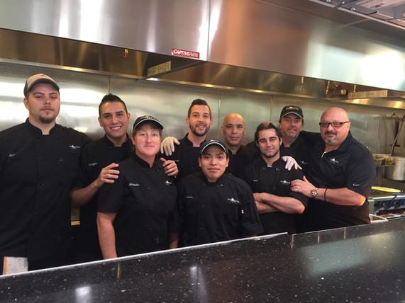 Eggscetera kitchen team members
