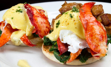 eggscetera cafe crab eggs benedict