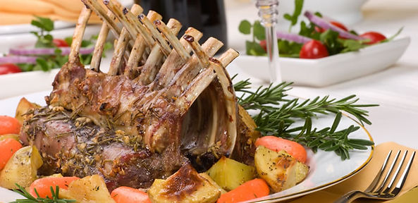 frenched lamb rack