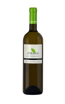 white anemos greek wine