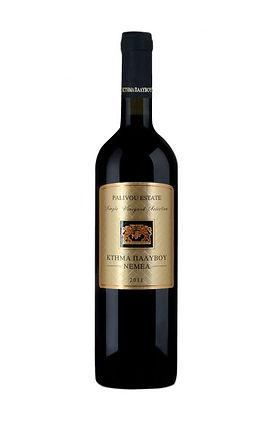 palivou estate red greek wine