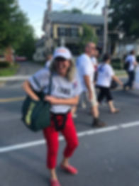handing out in parade.jpg