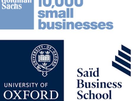 Amodigo join the Goldman Sachs business incubator programme