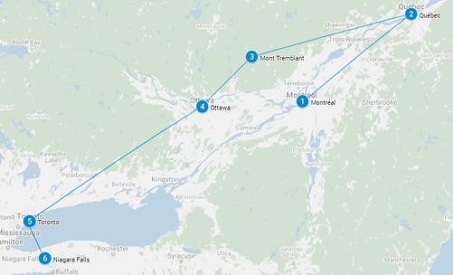 I tesori dell'Est - Canada