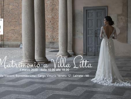 """""""Matrimonio a Villa Litta""""  - 01 marzo '20"""